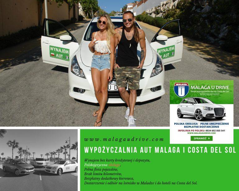 wynajecie auta w Maladze i na Costa del Sol