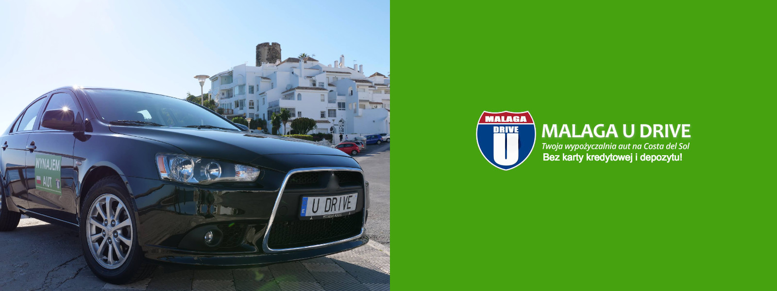Malaga-wypożyczalnia aut bez karty kredytowej